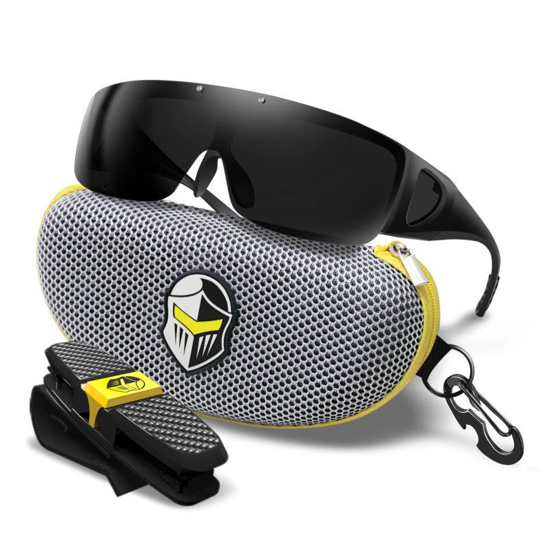Fit Over Glasses Black F Black L W Kv Gray Case B06xtkyrgf Blupond